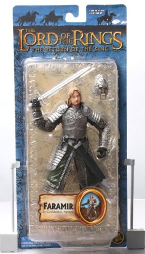 Faramir in Gondorian Armor (Blue Trilogy Card) - Copy