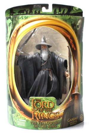 Gandalf with Light-Up Staff (Green Oval Card)