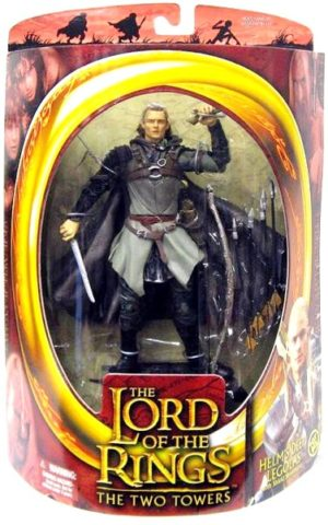 Helm's Deep Legolas Variant with Skateboard (No Elvish Runes Arrow Heads))-0