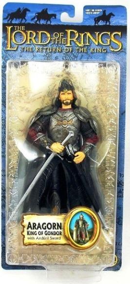 Aragorn King Of Gondor with Anduril Sword - Copy