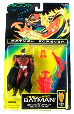 Batman Forever Fireguard Batman