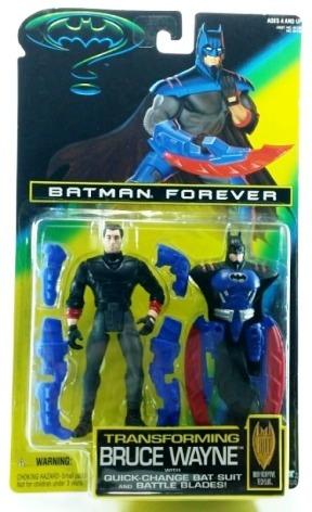 Batman Forever Transforming Bruce Wayne