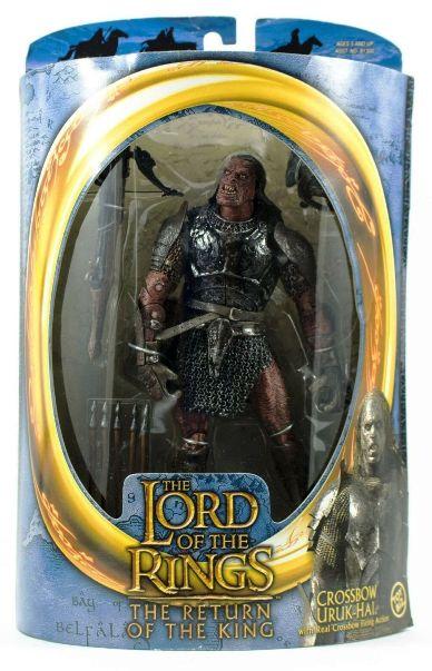 Lord of the Rings White Hand Uruk Hai action Figures,toybiz