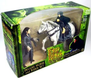 Deluxe Horse And Rider Set (Arwen and Asfaloth) (2-Pack) 2001-aa