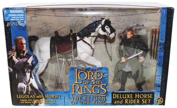 Deluxe Horse And Rider Set Legolas With Horse The Return Of The King-0 - Copy