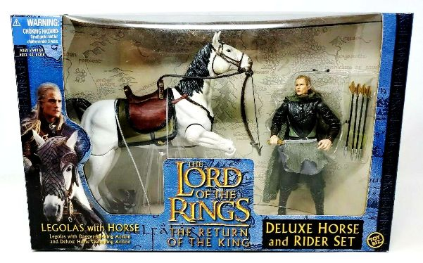 Deluxe Horse And Rider Set Legolas With Horse The Return Of The King-000 - Copy