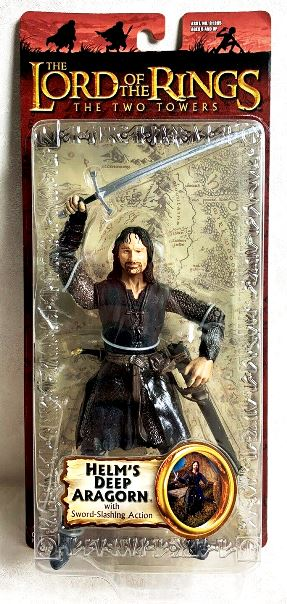 Helm's Deep Aragorn (Sword Slashing)