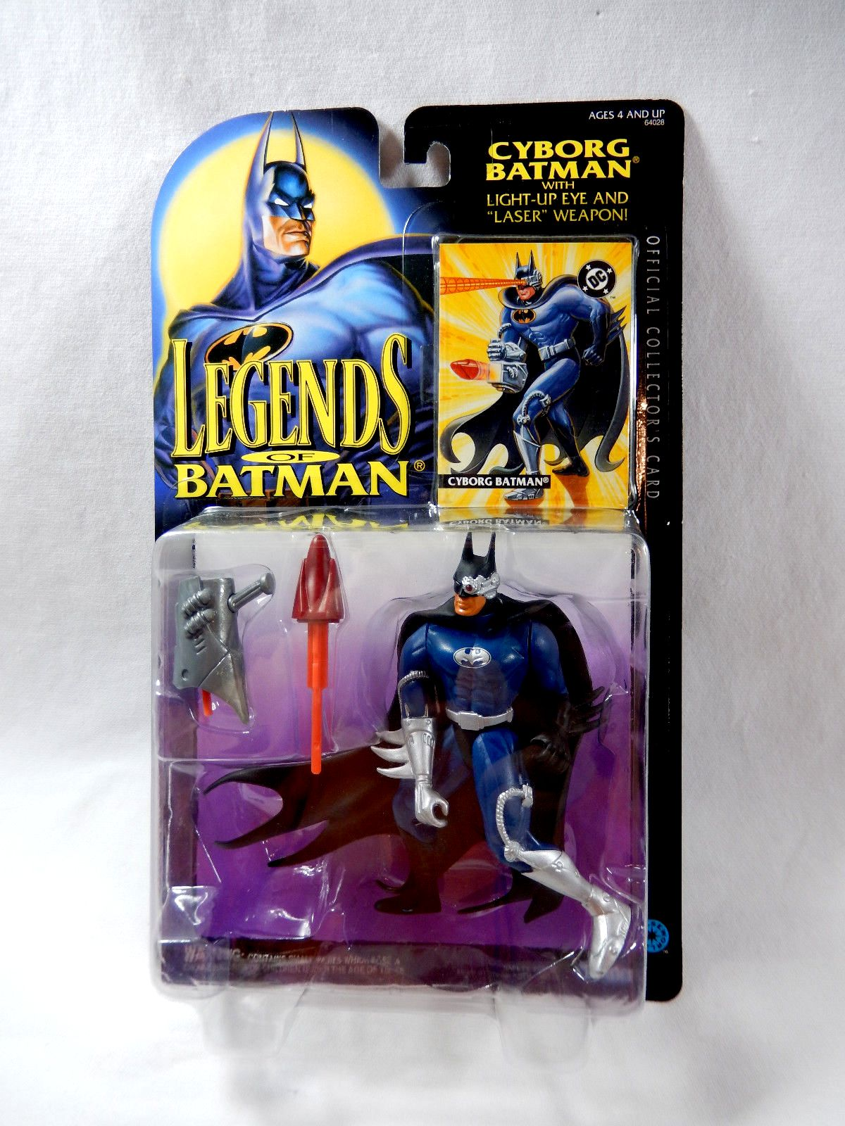 Batman Legends Weapon Riddler Launcher Kenner Original Figure Accessory
