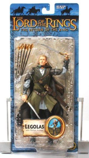 Legolas with Rohan Armor (Blue Trilogy Card)