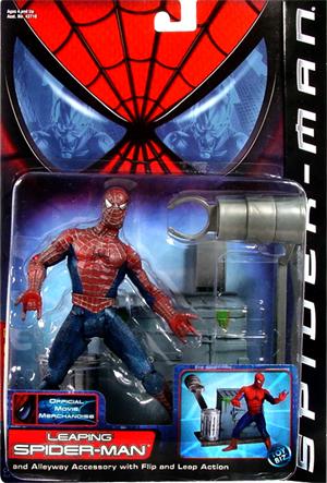 Spider-man Movie Leaping Spider-man