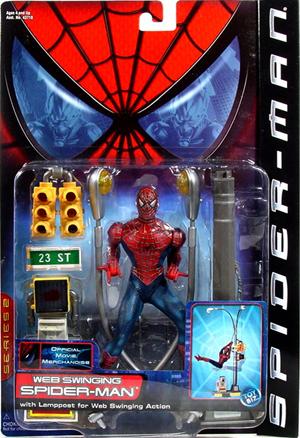 Spider-man Movie Web Swinging Spider-man