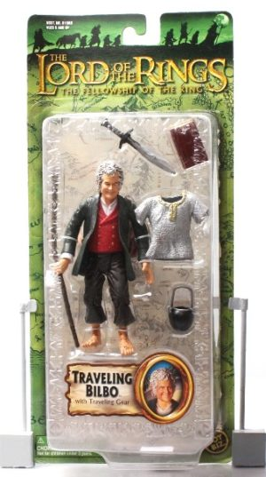 Traveling Bilbo with Traveling Gear (Green Trilogy Card) - Copy
