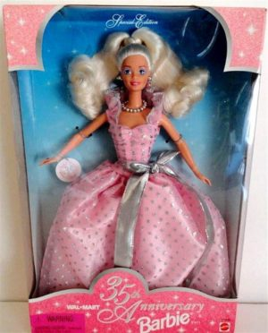 35th Anniversary Barbie (Blonde)-0