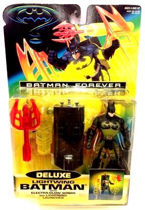Batman Forever Lightwing Deluxe Batman-1