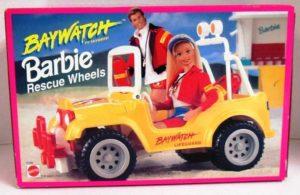 Baywatch Barbie Beach PatrolRescue Vehicle
