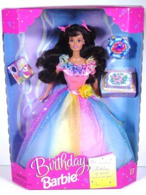 Birthday Barbie (Brunette) 1997