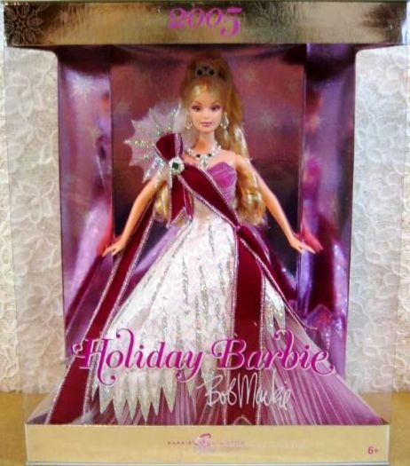 Bob Mackie 2005 Holiday Barbie Celebration -0 - Co