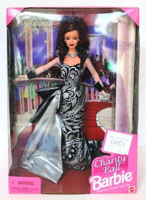 """Charity Ball Barbie """"Brunette"""""""