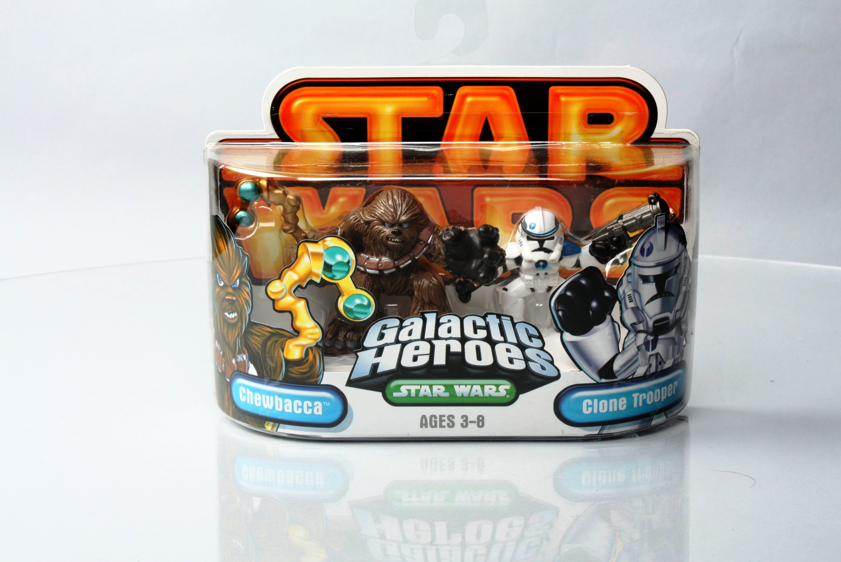 Star Wars Chewbacca /& clone trooper galactic heroes
