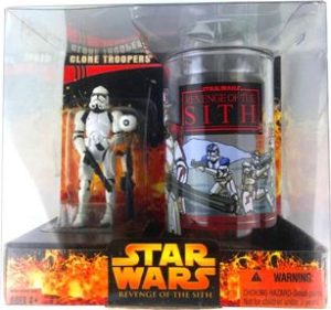 Clone Trooper Cup Figure Deluxe Box Set Target Exclusive Star Wars Revenge Of The Sith Ep Iii Vintage Collection Rare Vintage 2005 Now And Then Collectibles