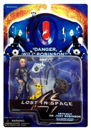 """Lost In Space (Danger,Will Robinson!) Feature Film Movie Action Figures Trendmasters Collection Series) """"Rare-Vintage"""" (1997-1998)"""
