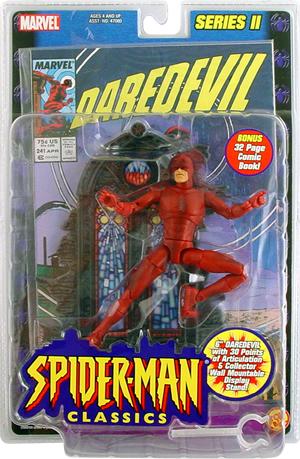 Daredevil (Spider-Man Classics with Comic)