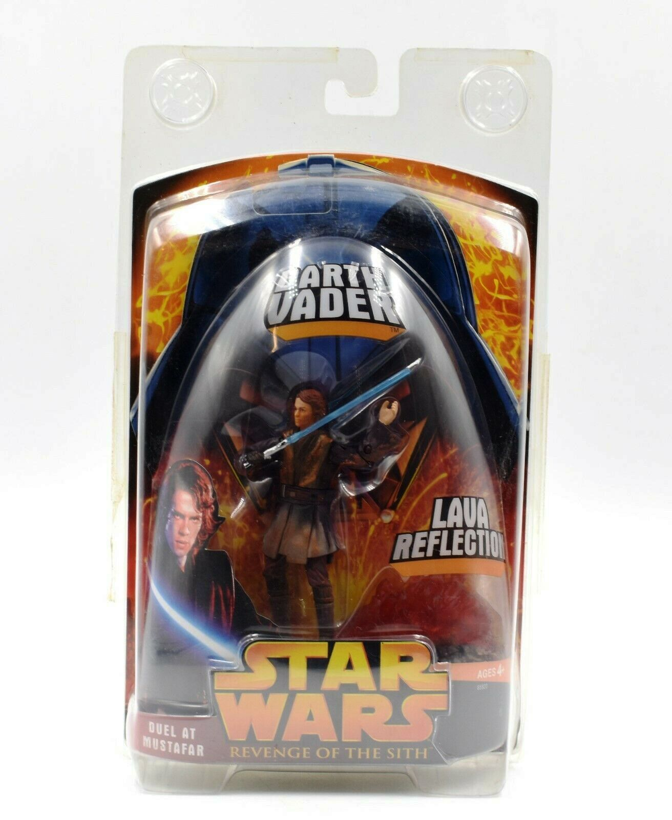 Darth Vader Variant Sith Red Eyes Duel At Mustafar Target Exclusive Star Wars Rots Ep Iii Vintage Collection 1 Series Rare Vintage 2005 Now And Then Collectibles