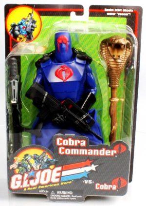 G.I. Joe Cobra Commander vs Cobra (Blister Carded-Blue) 12 inch - Copy