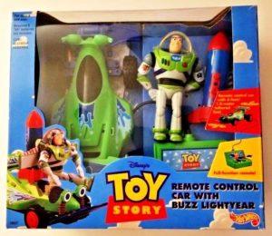 Hotwheels Remote Control Car with Buzz Lightyear-00