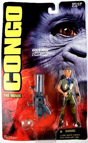 "Congo The Movie (Kenner's Action Figures Series Collection) ""Rare-Vintage"" (1995)"