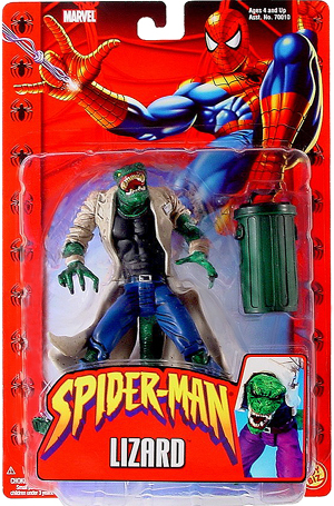 Lizard Spider-man Classics-2004