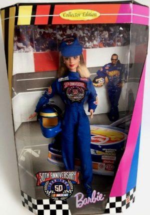 Nascar 50th Barbie-E
