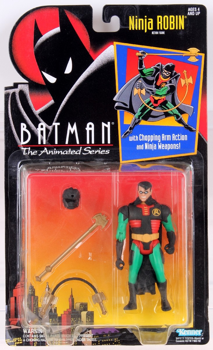Ninja Robin Batman The Animated Series 2 Action Figure Rare Vintage 1992 1995 Now And Then Collectibles