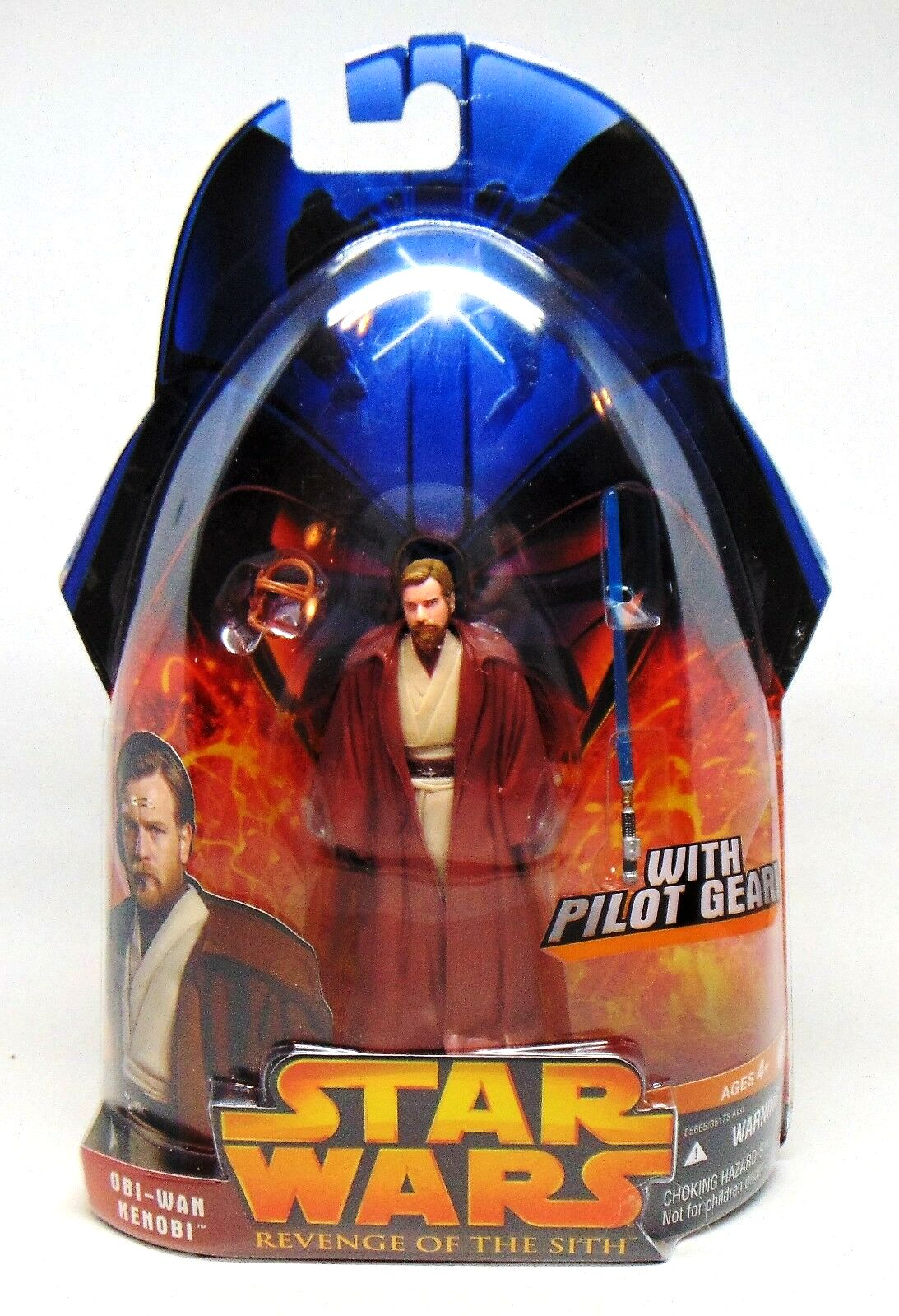 Obi Wan Kenobi With Pilot Gear 55 Star Wars Revenge Of The Sith Ep Iii Vintage Collection 1 Series Rare Vintage 2005 Now And Then Collectibles
