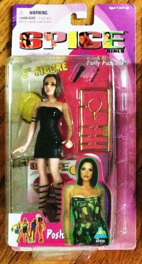 "Spice Girls (6-Inch ""Girl Power"") 1st Release Series Toymax Collection ""Rare-Vintage"" (1998)"