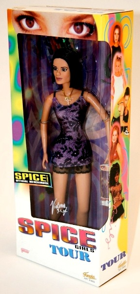 "Spice Girls (12-Inch ""On Tour"") 2nd Release ""Galoob"" Series Collection ""Rare-Vintage"" (1998)"