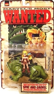 "Marvel (""Marvel's Most Wanted Collector Editions"") ""Rare-Vintage"" (1998)"