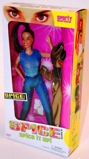 "Spice Girls (12-Inch ""Spice It Up"") 3rd Release ""Galoob""Series Collection ""Rare-Vintage"" (1998)"