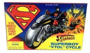 Superboy Vtol Cycle Superman Man Of Steel-2
