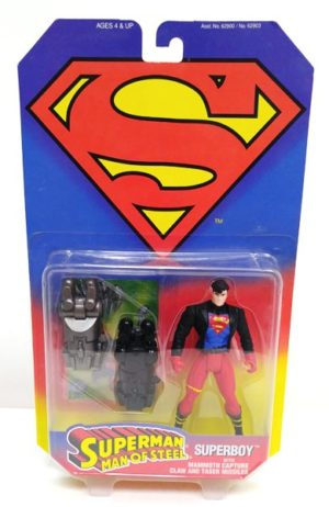 Superboy With Mammoth Capture Claw-1a