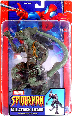Tail Attack Lizard Spider-man Classics