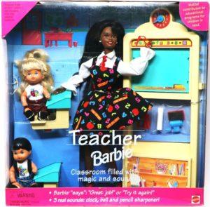 Teacher Barbie AA and Cass-Asian Children (0)