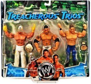 "WWE-Treacherous Trios (Adrenaline 3pk) ""Rare-Vintage"""