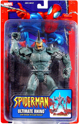 Ultimate Rhino Spider-man Classics