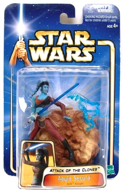 Star Wars Revenge of the Sith Aayla Secura 32 Action Figure Hasbro 2005 Rare USA