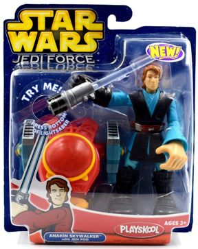 "Star Wars (Galactic Heroes & Jedi Force) Hasbro/Playskool Collection Series ""Rare-Vintage"" (2004-2005)"