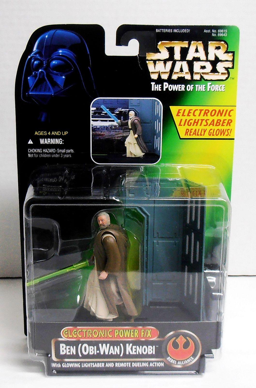 Kenobi ~ Exclusive Obi Wan Star Wars 1997 Potf Vintage Style Spirit Of Ben