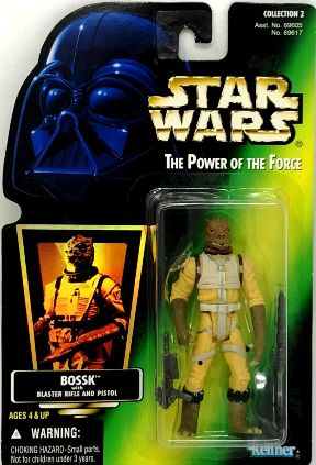 Bossk (Blaster Rifle and Pistol-Hologram)(Coll-2 #00) - Copy
