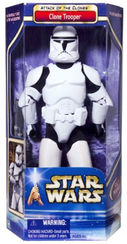 "Star Wars (Episode-II) Attack Of The Clones 12 Inch (""Hasbro Vintage Collection Series"") ""Rare-Vintage"" (2002)"