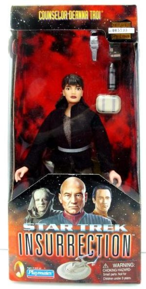 """Star Trek (Insurrection 9 Inch """"Real Cloth Outfits"""" Series Collection) """"Rare-Vintage"""" (1998 )"""
